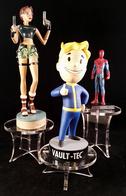 Lot De 3 Présentoirs Plexi Pour Figurines - Video Games