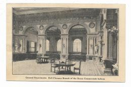 FIRENZE - GENERAL DEPARTMENTS  HALL FLORENCE BRANCH OF THE BANCA COMM.LE ITALIANA - NVFP - Firenze