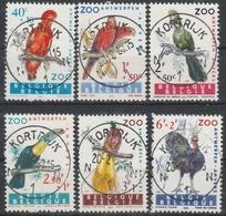 1216/1221 Zoo D'Anvers Oblit/gestp Centrale - Belgique