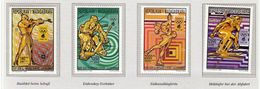 Madagascar / Olympic Games Lillehammer 1994 / Biathlon, Ice Hockey, Figure Skating, Alpine Skiing - Hiver 1994: Lillehammer
