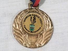 """RHYTHMIC GYMNASTICS """"SIRMIUM DANCE FEST"""" SPORT GOLD MEDAL ~ MEDAILLE, CHAMPIONSHIP OF SERBIA - Gymnastique"""