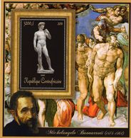 Michelangelo Buonarroti (1475-1564)  -  'David'  -  1v Feuillet  Neuf/Mint - Arte
