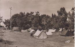 CPSM Ile De Ré - Rivedoux - Le Camping (avec Cachet Hexagonal De Rivedoux) - Ile De Ré