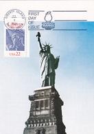 Carte-Maximum ETATS-UNIS N° Yvert  (STATUE DE LA LIBERTE) Obl Sp Ill 1er Jour - Maximumkarten (MC)