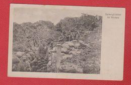 Sprengtrichter Im Westen - Weltkrieg 1914-18