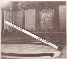 Besançon 1934 - Photo Originale De L'intérieur Du Palais De Justice, La Cour D'assises ( Doubs ) - Luoghi