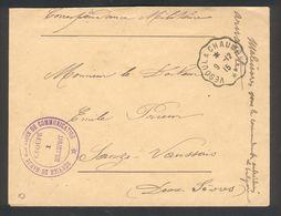 Service De Garde Des Voies De Communication (G.V.C.) Groupe 1    Rolampont  Haute-Marne - Marcophilie (Lettres)