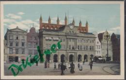 Rostock, Neuer Markt Mit Rathaus, Um 1910 - Rostock