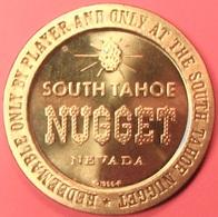 $1 Casino Token. South Tahoe Nugget, Lake Tahoe, NV. 1966, NEW. J28. - Casino