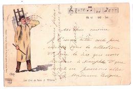 """0485 - L""""es Cris De Paris - J.Gerson éd. à Paris - 1e Série N°3 - Petits Métiers à Paris"""