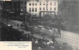 75e Anniversaire De L'Indépendance Belge - Grand Cortège Historique - 4 - Char De La Maison De Bourgogne - Fêtes, événements