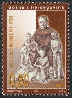 Bosnia Herzegovina, 2002, Croatian Post, (#92) - Fra Didak Buntic - Bosnia Erzegovina