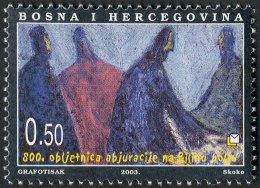 Bosnia Herzegovina, 2003, Croatian Post, (#107) - Bilino Polje - Bosnia Erzegovina