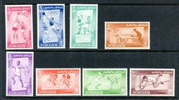 Jordan, 1964, Olympic Summer Games Tokyo, Sports, MNH, Michel 437-444A - Jordanie