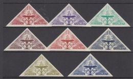 Jordan, 1964, Olympic Summer Games Tokyo, Sports, MNH Imperforated, Michel 473-480B - Jordanie