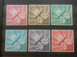Jordan, 1965, Olympic Summer Games Tokyo, Sports, MNH, Michel 501-506A - Jordanie