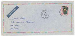 1966 - LETTRE LABORATOIRE PLASMARINE IONYL Cad PAPEETE TAHITE Du 11 - 2 - 1966 Pour NICE FRANCE - French Polynesia