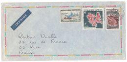 1966 - LETTRE LABORATOIRE PLASMARINE IONYL Cad NOUMÉA NOUVELLE CALÉDONIE Du 2 - 2 - 1966 Pour NICE FRANCE - New Caledonia
