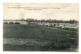 AVIATION De CHATEAUROUX (36) - Camp De La Martinerie - 3ème Régiment De Chasse - Les Baraquements - Regiments
