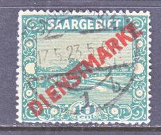 SAAR   O 3   (o) - 1920-35 League Of Nations