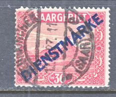 SAAR   O 10   Type  II   (o) - 1920-35 League Of Nations