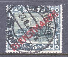 SAAR   O 13   Deep  Green   (o) - 1920-35 League Of Nations