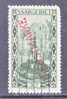 SAAR   O 20 A   Type I  (o) - 1920-35 League Of Nations