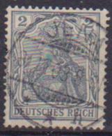 GERMANIA REICH IMPERO 1902 FIGURA ALLEGORICA  DELLA GERMANIA LEGGENDA DEUTSCHES UNIF. 66 USATO VF - Germania