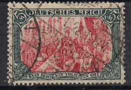 GERMANIA REICH IMPERO 1902 ALTI VALORI LEGGENDA DEUTSCHES REICH UNIF. 80 USATO VF - Germania