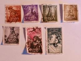 ESPAGNE  1954-55  Lot # 53 - 1931-Aujourd'hui: II. République - ....Juan Carlos I