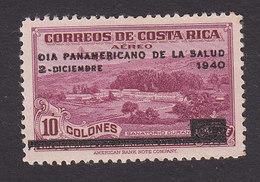 Costa Rica, Scott #C54, Mint Hinged, Duran Sanatorium, Issued 1940 - Costa Rica