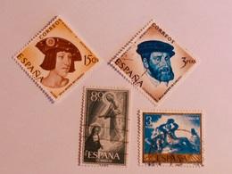 ESPAGNE  1957-58  Lot # 57 - 1931-Aujourd'hui: II. République - ....Juan Carlos I