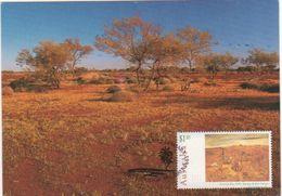 Australia 2017 Postally Used Maximum Card,sent To Italy,1995 Australia Day ,Outcamp - Maximum Cards