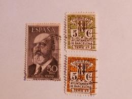 ESPAGNE  1955  Lot # 61 - 1931-Aujourd'hui: II. République - ....Juan Carlos I