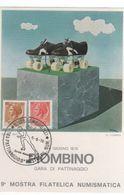 Italy 1976 9th Philatelic Expo Piombino,souvenir Card - 6. 1946-.. Republic
