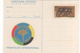 Italy 1980 Panathlon International Unused Postal Card - 6. 1946-.. Republic