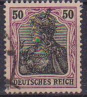 GERMANIA REICH IMPERO 1905 FIGURA ALLEGORICA DELLA GERMANIA UNIF. 89  USATO VF - Germania