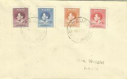 Nauru  SG 44-47 1937 Coronation,First Day Cover - Nauru