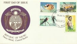 Nauru  SG 99-112 1973 Definitive Set 3,First Day Covers - Nauru