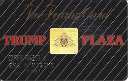Trump Plaza Casino Atlantic City NJ 6th Issue Slot Card With Hologram Logo  ...[RSC]... - Casino Cards