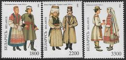 Belarus SG188-190 1996 Traditional Costumes (2nd Series) Set 3v Complete Unmounted Mint [36/30236/6D] - Belarus