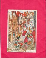 ILLUSTRATEUR   - CPA  COLORISEE - La Rue De La Ferronnerie Sous Henri IV - NANT/BORD - - Andere Zeichner