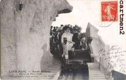 LUNA-PARK SCENIC RAILWAY FETE FORAINE MANEGE TRAIN MONTAGNE RUSSE ATTRACTION PARIS - Circus