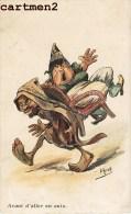 ILLUSTRATEUR HERZIG HUMOUR JUDAÏCA TYPE ARABE JUDAÏSME FEMME JUIF JEWISH WOMAN - Non Classificati