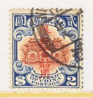 OLD CHINA  SINKIANG  65  (o)  Re-engraved - Sinkiang 1915-49