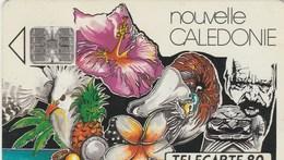 CARTE TELEPHONIQUE  NOUVELLE CALEDONIE  80 UNITES - New Caledonia