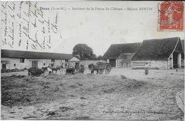SEINE Et MARNE-DOUE Intérieur De La Ferme Du Chateau Maison Bertin-MB - Autres Communes