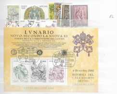 1982 USED Year Complete - Vaticano (Ciudad Del)