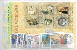 1983 USED Year Complete - Vaticano (Ciudad Del)
