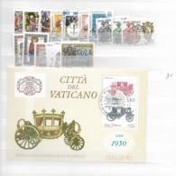 1985 USED Year Complete - Vaticano (Ciudad Del)
